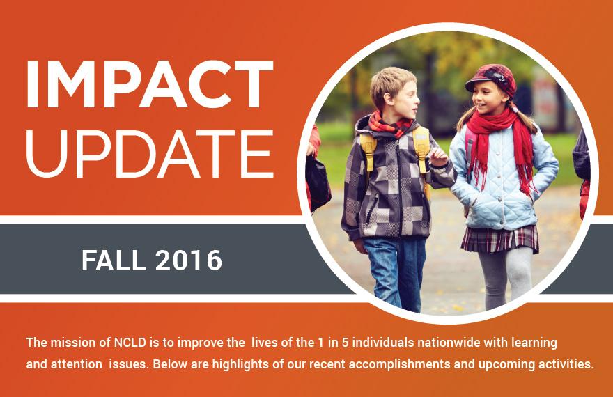 ncld impact fall 2016