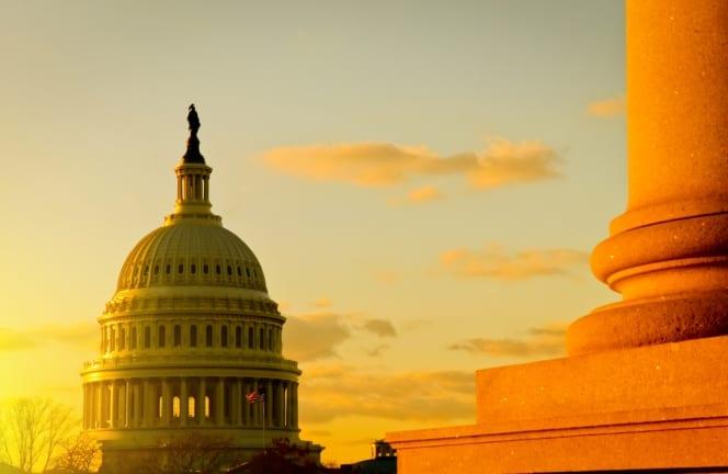 U.S. Capitol in the Summer
